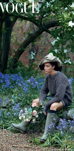 Victoria Beckham by Patrick Demarchelier ● Vogue UK August 2014