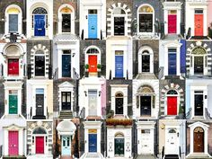 Входные двери Англии.