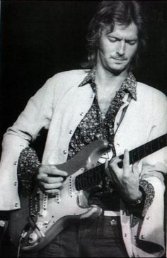 Eric during Derek & The Dominos period