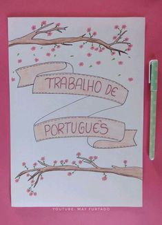 Beautiful Summer Scrapbook Ideas Capa Para Trabalhos Escolares Capa Para Bullet Journal Escuela throughout [keyword Bullet Journal Ideas Pages, Bullet Journal Inspiration, Journal Pages, Lettering Tutorial, School Labels, School Notebooks, Decorate Notebook, Study Notes, Cover Pages