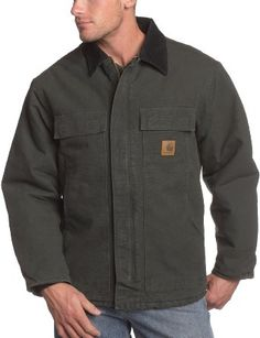 Carhartt Men's Arctic-Quilt Lined Sandstone Traditional Coat: #Quilt Lined Coat