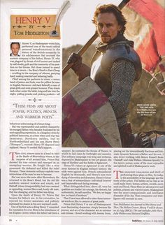 Tom wrote a piece on Henry V for RadioTimes.