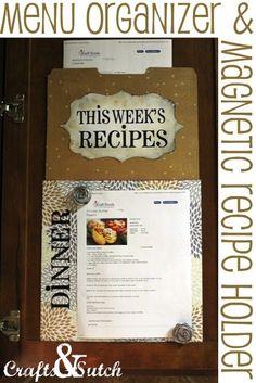 recipe holder
