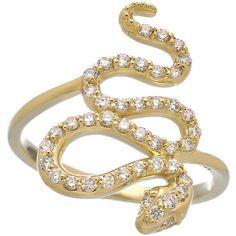 KC Designs Diamond Snake Ring