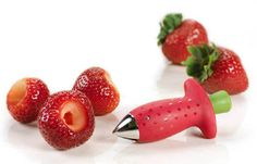 This strawberry huller that's so cute it actually hurts a bit. | 21 Kitchen Gadgets You Need To Buy Right Now