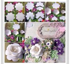 Gorgeous paper flowers, easy and gorgeous #weddings #parties