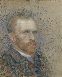 Self-Portrait Paris, March - June 1887 Vincent van Gogh (1853 - 1890) oil on cardboard, 41 cm x 33 cm Van Gogh Museum, Amsterdam (Vincent van Gogh Foundation)  http://www.vangoghmuseum.nl/en/collection/s0065V1962