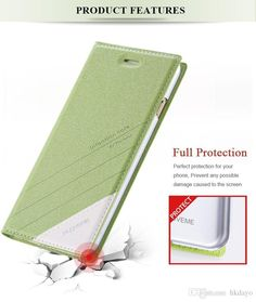 Top Quality View Window Style Smart Answer Leather Case for Iphone 6 Plus 5.5 Shiny Skin Luxury Back Cover for Iphone6 from Hkdayo,$7.13 |