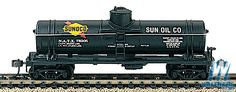 40' Single-Dome Tank Car -- Sunoco-1