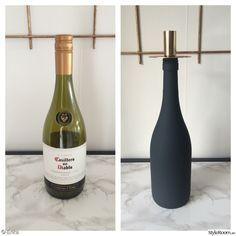 ljusstake,pyssel,mässing,vinflaska,gör det själv