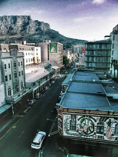 Long Street Canvas Print / Canvas Art by Christian Smit Most Beautiful Cities, Beautiful Places To Visit, Oh The Places You'll Go, Cape Town Holidays, Time For Africa, Clifton Beach, Cape Town South Africa, Dream City, Spin