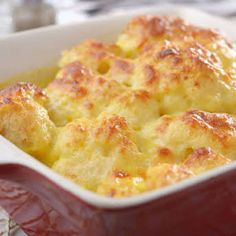 Cauliflower Gratin, Cauliflower Dishes, Cauliflower Cheese, Easy Cooking, Cooking Recipes, Oven Recipes, Easy Recipes, Yummy Eats, Yummy Food