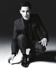 Logan Lerman by Elias Tahan for Scene Magazine -... - - IT'S A REASON TO GET UP IN THE MORNING -