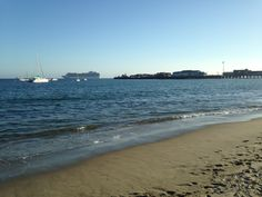 Santa Barbara beach.