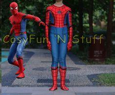 2017 Spider-Man Homecoming Kids Children's 3D Spiderman Cosplay Costume & Mask-Boys-Wickydeez