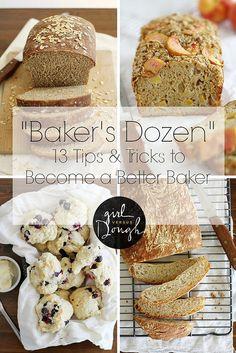 """Baker's Dozen"" Tips and Tricks | girlversusdough.com @stephmwise"