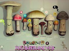 real life Mario Bros mushrooms!