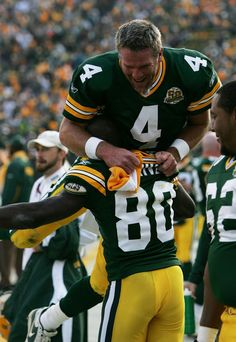 Brett Favre and Donald Driver...Miss those days