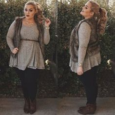 Casual And Comfy Plus Size Fall Outfits Size Herbstmode bequem 45 . Plus Size Fall Outfit, Plus Size Fashion For Women, Plus Size Women, Plus Fashion, Womens Fashion, Plus Size Winter Outfits, Fashion 2016, Fashion Stores, Casual Plus Size Outfits