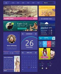 purple website flat - Google Search