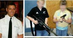HIGHLANDS-based Police Scotland firearms officer Blair McMaster, 39, posted the worrying images on his social media accounts.