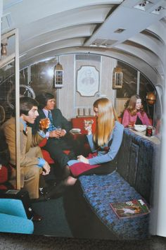 vintage everyday: Vintage Air Travel – Swanky Examples of How We Used to Fly from the Mid-1950s to 1970s