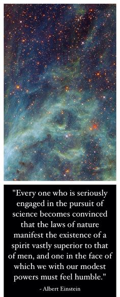 Einstein was so intelligent in his realization that a superior being existed and created the universe, that science proves creation. Every single day. Einstein Quotes, Day Wishes, Albert Einstein, Thought Provoking, Gods Love, Me Quotes, Bible Verses, Inspirational Quotes, Wisdom