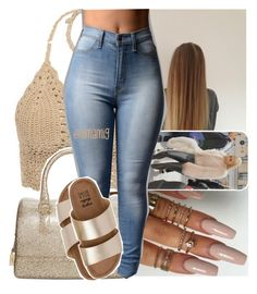 """""""what if i don't try? what if i do?"""" by lamamig ❤ liked on Polyvore featuring Furla and Billabong"""