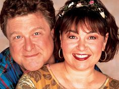 Dan & Roseanne- John Goodman and Roseanne Barr. Love this Show! Best Tv Couples, Famous Couples, Celebrity Couples, Roseanne Tv Show, Roseanne Barr, Roseanne Conner, 80 Tv Shows, Tv Icon, Actresses
