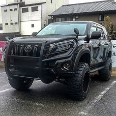 Black Custom Toyota Landcruiser Prado