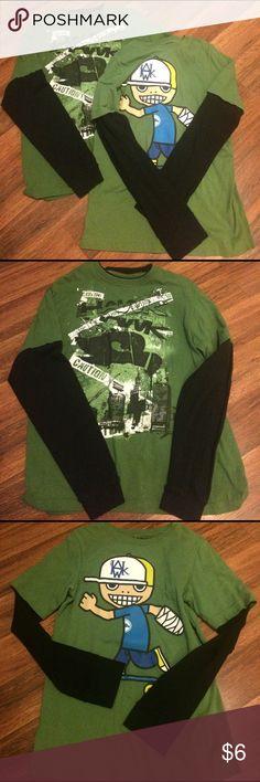 Bundle - boys Tony Hawk long sleeve tees. Great condition. So large 14/16. Tony Hawk Shirts & Tops Tees - Long Sleeve