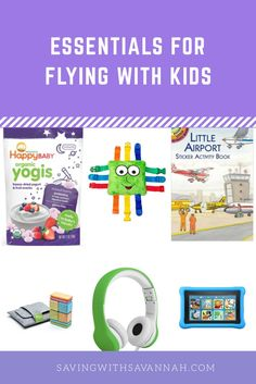 How to entertain a toddler while flying? Best items for traveling with little kids. Small, portable, easy to pack toys and more!