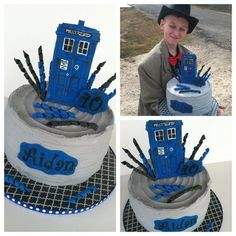 Doctor Who Cake  Cake by Jacque McLean - Major Cakes