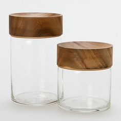 Teakwood Boaster Jar - love the look!