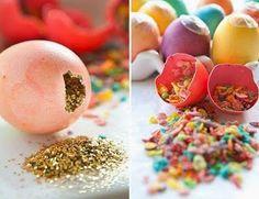 Cómo hacer huevos con confeti :)
