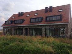 Rij van vier huizen op Wevershof in Wilgenrijk - wonen - nieuw Hollands - kwaliteit