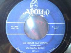 Solomon Burke-My Heart Is A Chapel - YouTube