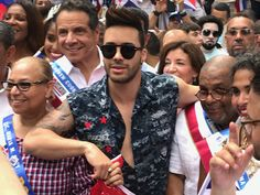 On Sunday, August New Yorkers and the Latino community celebrated the edition of the Dominican Day Parade in Manhattan. Dominican Day Parade, Principe Royce, North America, The Scene, Couple Photos, Film, Celebrities, Manhattan, Prince