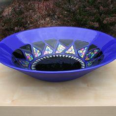 Fused Glass Decorative Bowl