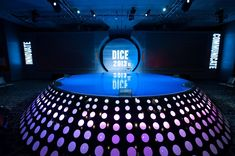 Nice Stage design feature  Our #DICE2013 Summit Stage. #Gaming #Conference