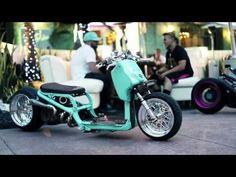 DORBYWORKS custom Honda Ruckus Minty version 2 - YouTube