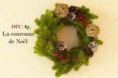 Couronne de Noël - DIY