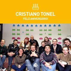Mais um aniversário na Interativacom. o/  Parabéns, Cristiano! :D