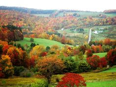 Wellsville, NY  Love this photo!! I miss this area with the absolutely beautiful foliage and nature!! <3