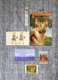 Ditch the Frames: 6 Quick & Cheap Ways to Create a Gallery Wall of Art | Apartment Therapy