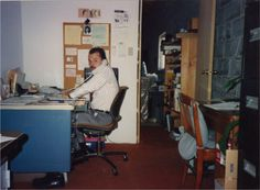 In celebration of our 25th anniversary...Co-owner, Doug Shinn, on the phone taking orders and making sales. #thewaterguy #tbt