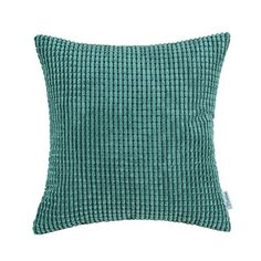 Euphoria CaliTime Cushion Covers Pillows Shell Comfortable Soft Corduroy Corn Striped Teal Color 18 X 18 Inches Euphoria http://www.amazon.com/dp/B00XKLEQHY/ref=cm_sw_r_pi_dp_DaY6wb00JTP02