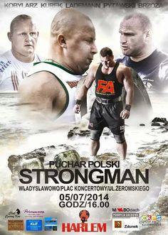 Ostatnie w tym roku zawody #StrongMan z cyklu Pucharu Polski odbędą się w najbliższą sobotę we Władysławowie. Komu kibicujemy? :) Start o 16 na Placu Koncertowym!