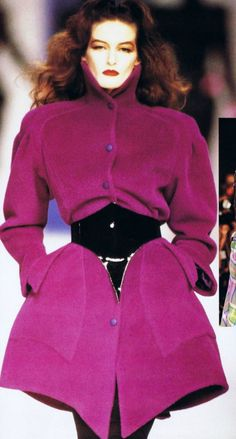 Inspiration: The 80s Through Thierry Mugler ´s wonderful designs