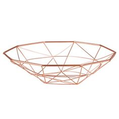 Copper Metal Wire Bowl on Maisons du Monde. Take your pick from our furniture and accessories and be inspired! Copper Material, Copper Metal, Taekook, Kitchen Ornaments, Cosy Room, Gris Rose, Wood Interiors, Pinterest Diy, Tea Light Holder